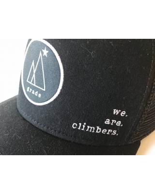 "grade cycling Trucker Cap ""We are climbers"""