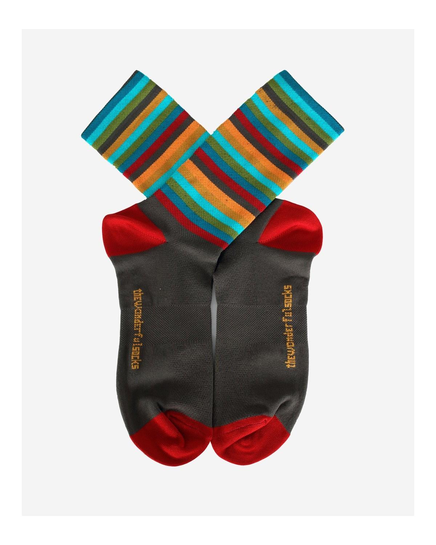 The Wonderful Socks Riviera Radsocken