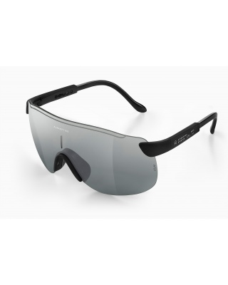 Alba Optics Stratos Radbrille schwarz | mr alu Glastönung