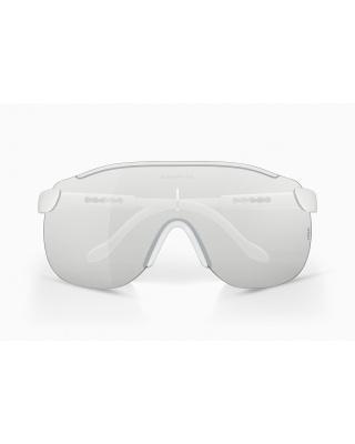 Alba Optics Stratos Radbrille weiß |  selbsttönendes Brillenglas F-Lens