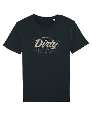 Fahrrad T-Shirt Let´s get dirty Cyclocross