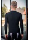 Raso Fahrradunterhemd langarm schwarz