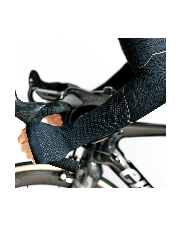 Spatzwear BASEZ 2 Winter Fahrradunterhemd schwarz