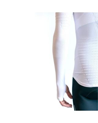 Spatzwear BASEZ 2 Winter Fahrradunterhemd weiß