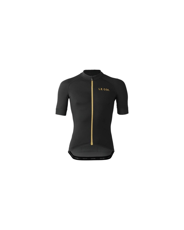 Le Col Pro Jersey schwarz gold