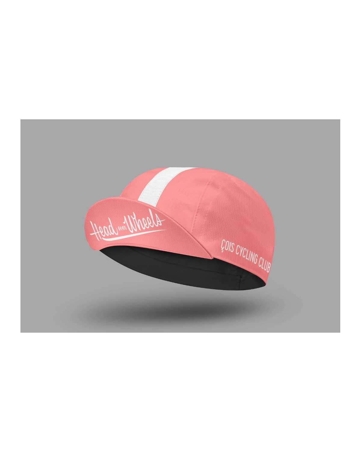 Radmütze Head over Wheels pink Cois Cycling