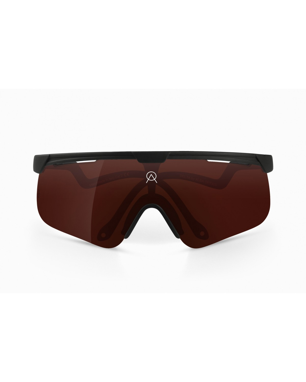 Alba Optics Delta Black  VZUM™ POU Fahrradbrille