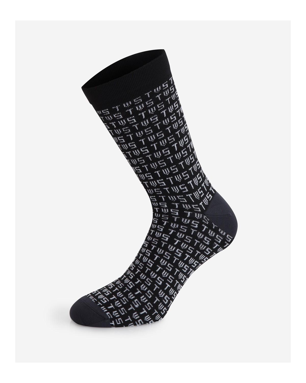 The Wonderful Socks Monogram Radsocken Fahrradsocken
