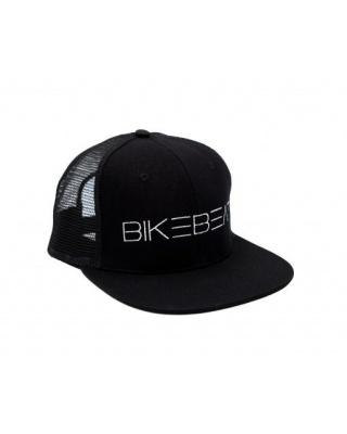 BikeBeat Snapback Cap Logo (Schwarz)