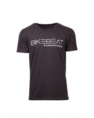 BikeBeat T-Shirt Logo Grau