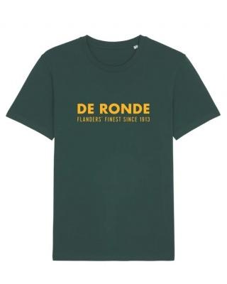 Cois Cycling T-Shirt De Ronde grün