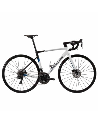 Cipollini Dolomia Disc Rahmenset WHITE - CARBON - BLUE SHINY 21