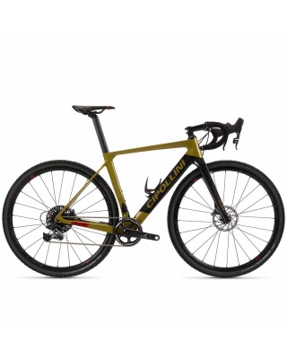 Cipollini MCM Allroad Disc Gravel Rahmenset SAND - CARBON - RED SHINY