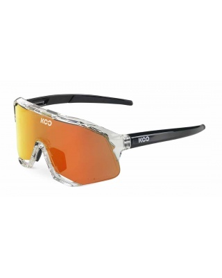 KOO Demos Sonnenbrille transparent-rot