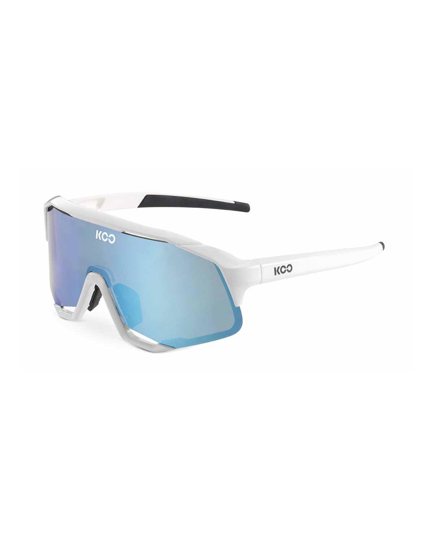 KOO Demos Sonnenbrille weiß-türkis