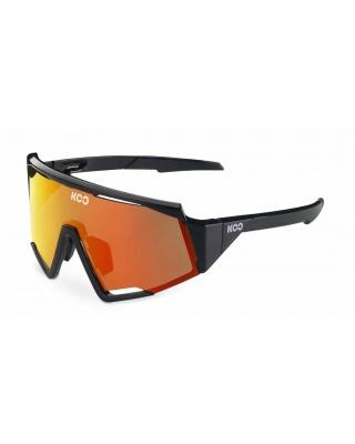 KOO SPECTRO Sonnenbrille schwarz-rot