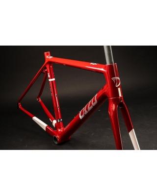 DIZO S6ego Carbon Rahmenset Punk Red