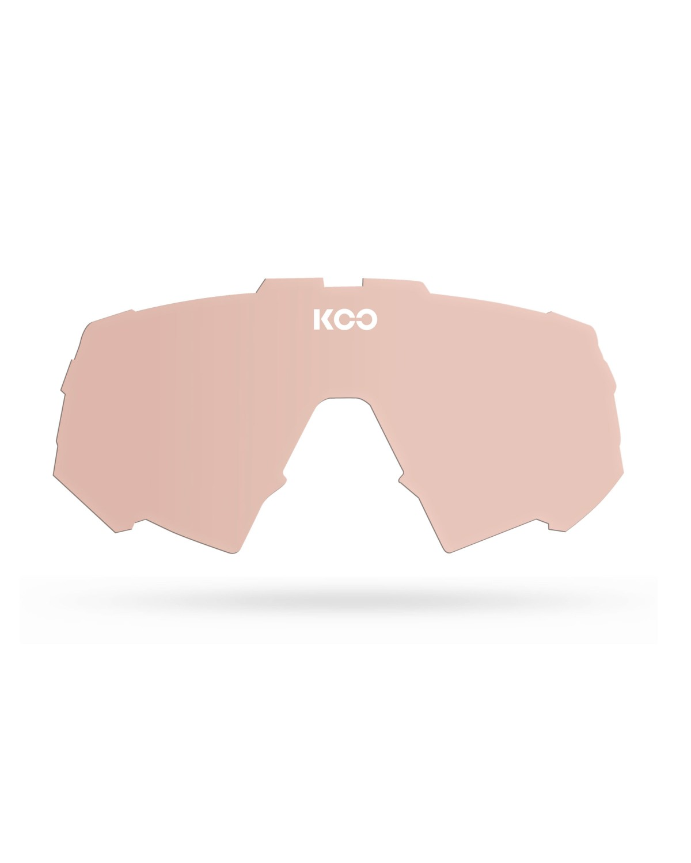 KOO SPECTRO Wechselglas rosa