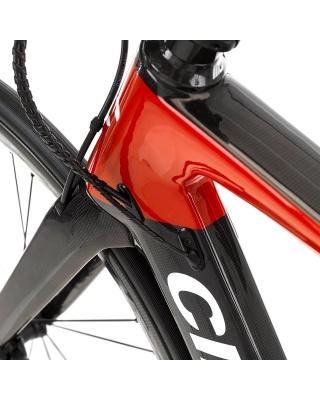 Cipollini MCM Endurance DISC Rahmenset RED - CARBON - WHITE SHINY
