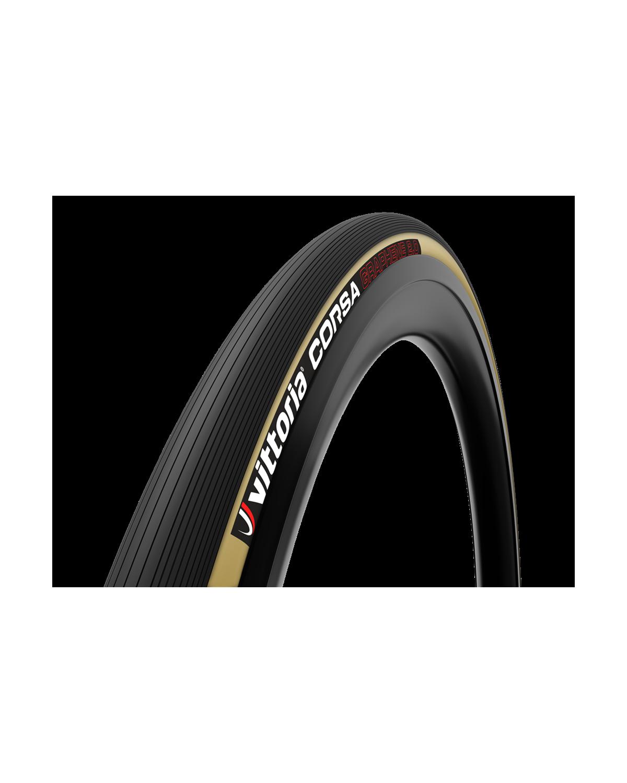 Vittoria Corsa G2.0 Rennradreifen schwarz/transparent