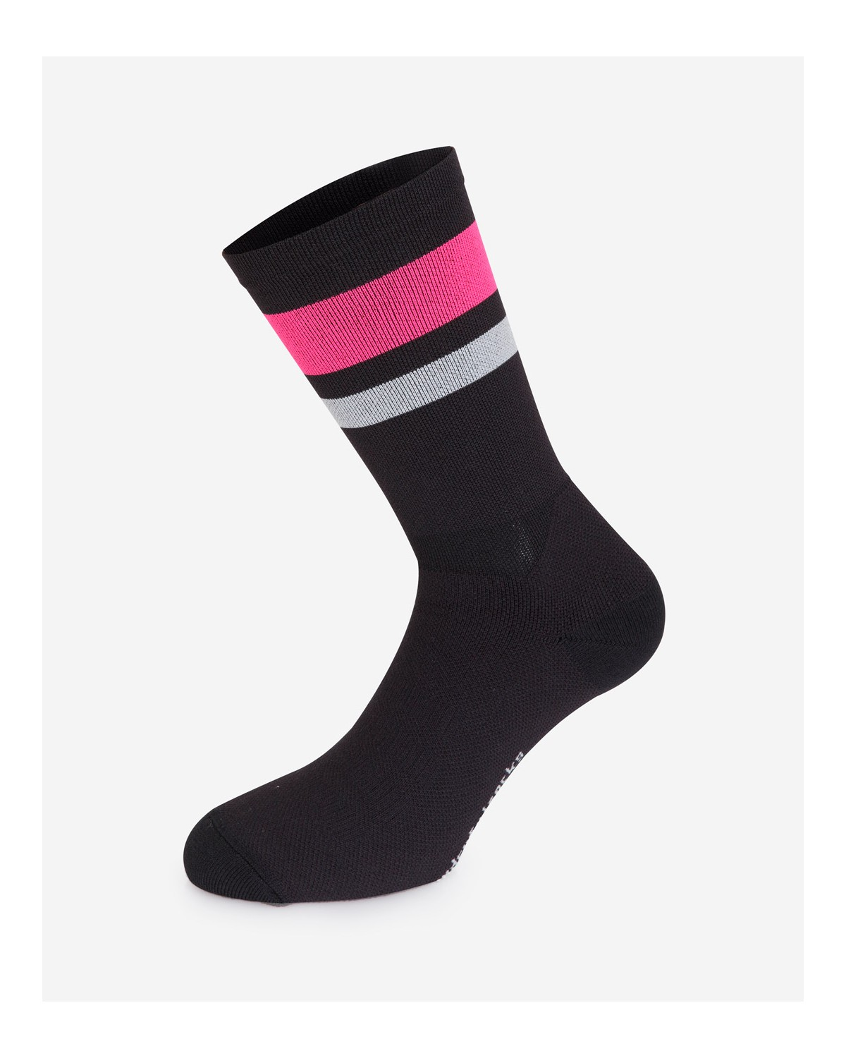 The Wonderful Socks Winter Radsocken schwarz/pink