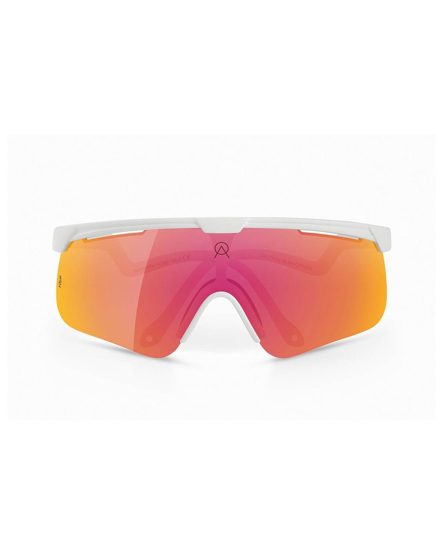 Alba Optics Delta weiß VZUM™ ML LAVA Sonnenbrille