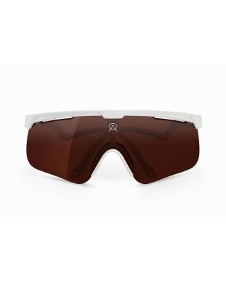 Alba Optics Delta weiß VZUM™ POU Sonnenbrille