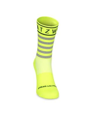 Spatzwear SOKZ Radsocken neongelb unisize