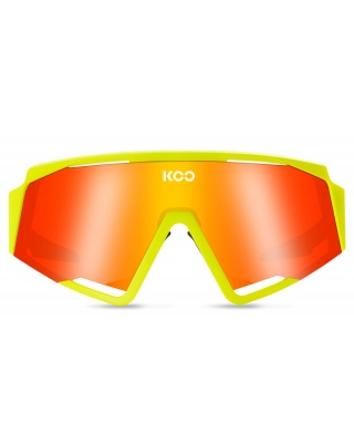 KOO SPECTRO Sonnenbrille Yellow Fluo
