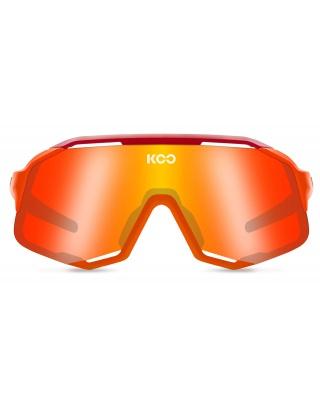 KOO Demos Sonnenbrille Orange fluo / Red