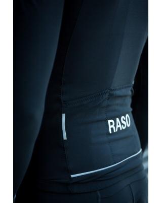 Raso Classic Radtrikot Langarm schwarz