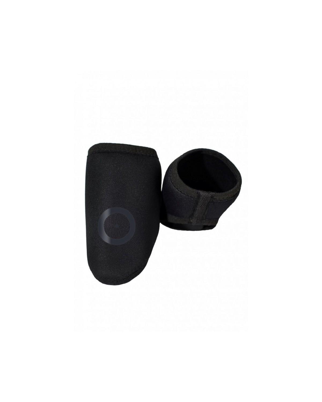 Raso Zehenschutz-Überschuhe schwarz