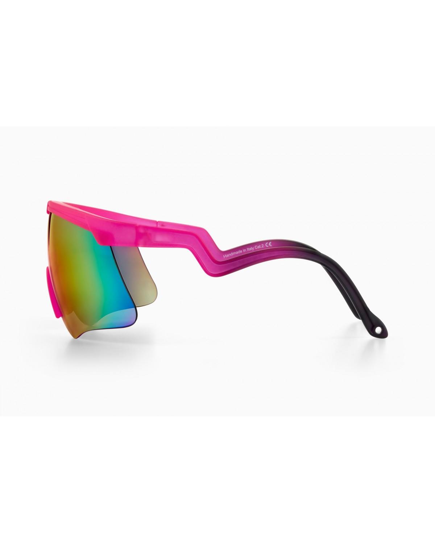 Alba Optics Delta Fucsia GR Retro Radbrille