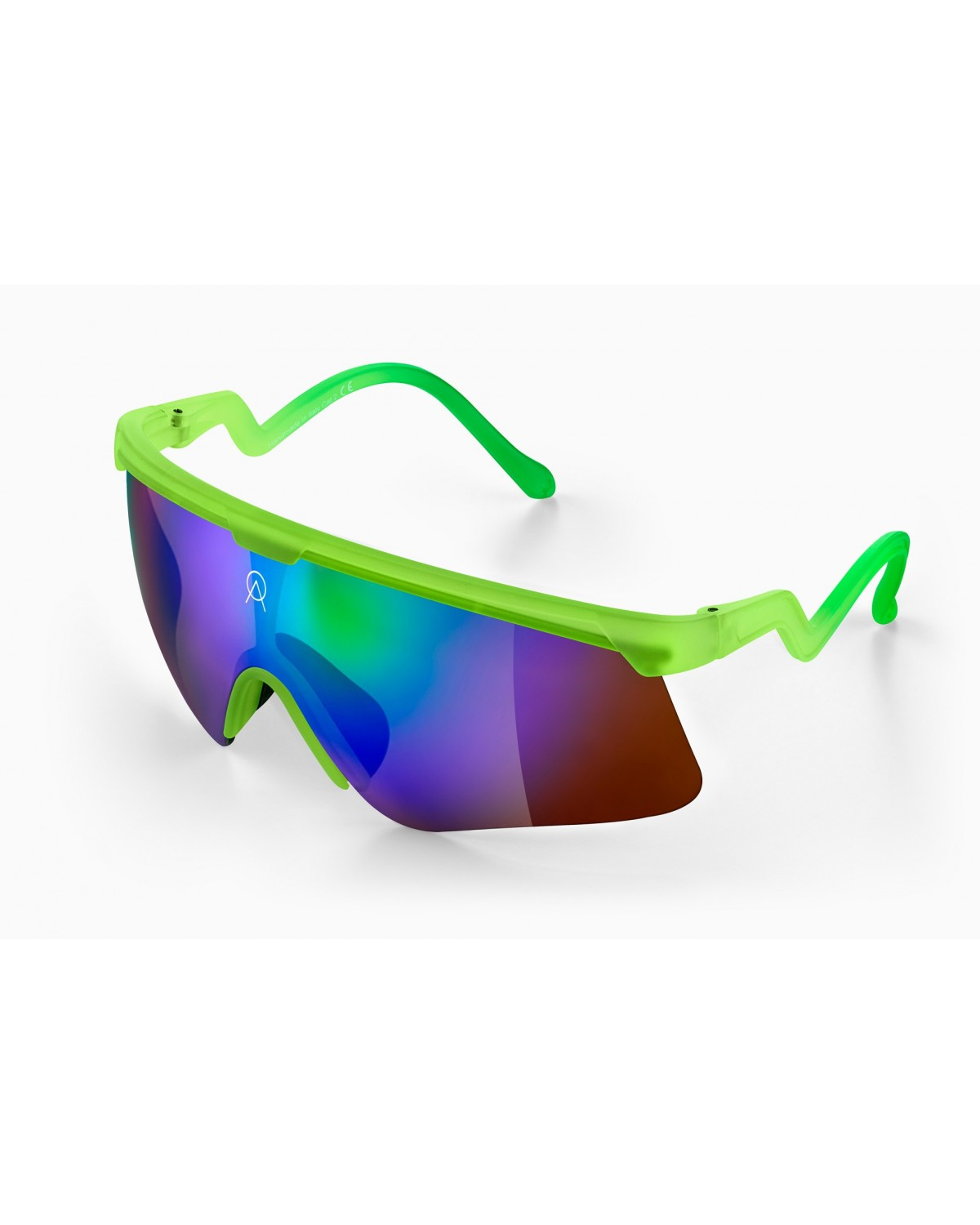 Alba Optics Delta Lime GR Retro Radbrille