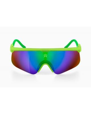 Alba Optics Delta Lime GL Retro Radbrille