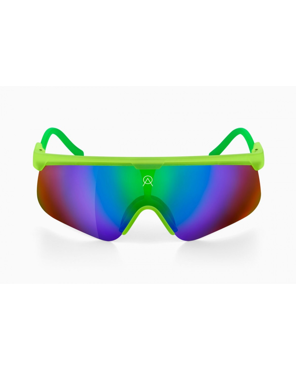 Alba Optics Delta Gradient Lime Sonnenbrille