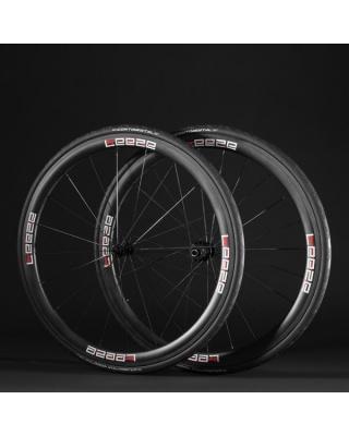 Leeze CC 38 Laufräder mit Reifen Continental Grand Prix 4000 S II