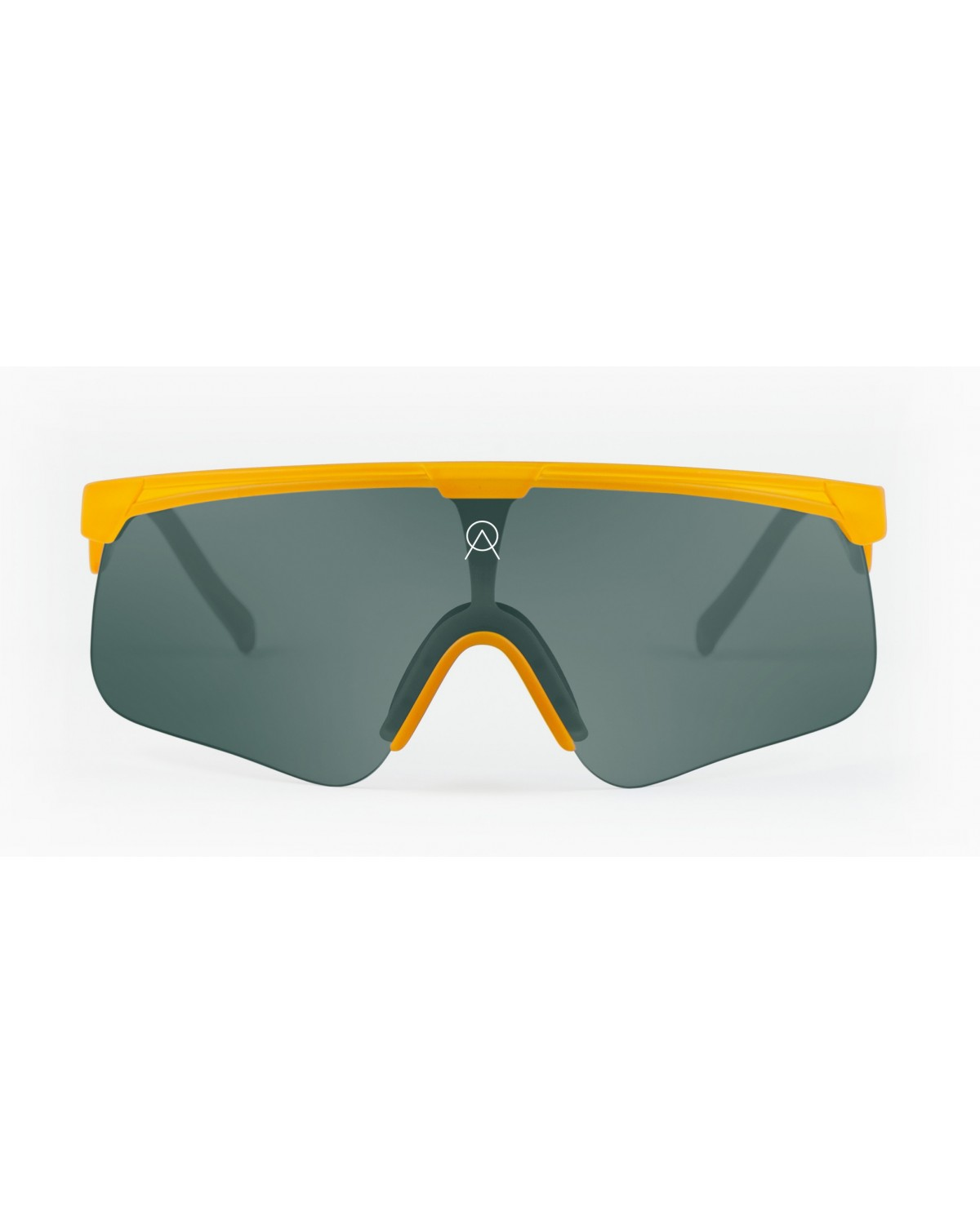 Alba Optics Delta Hay Yellow Retro Radbrille