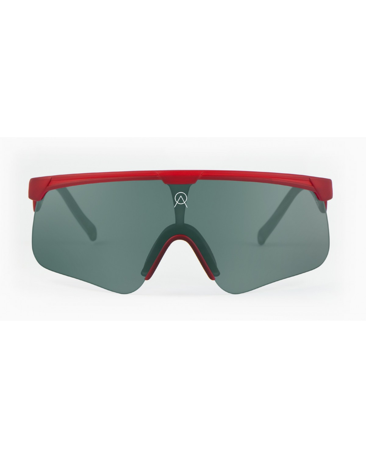 Alba Optics Delta Poppy Red Retro Radbrille
