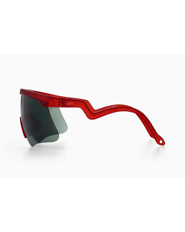 Alba Optics Delta Poppy Red Retro Radbrille