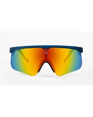 Alba Optics Delta Indigo Blue Retro Radbrille