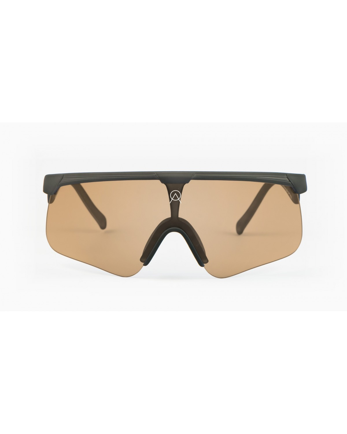 Alba Optics Delta Tarmac Grey Retro Radbrille