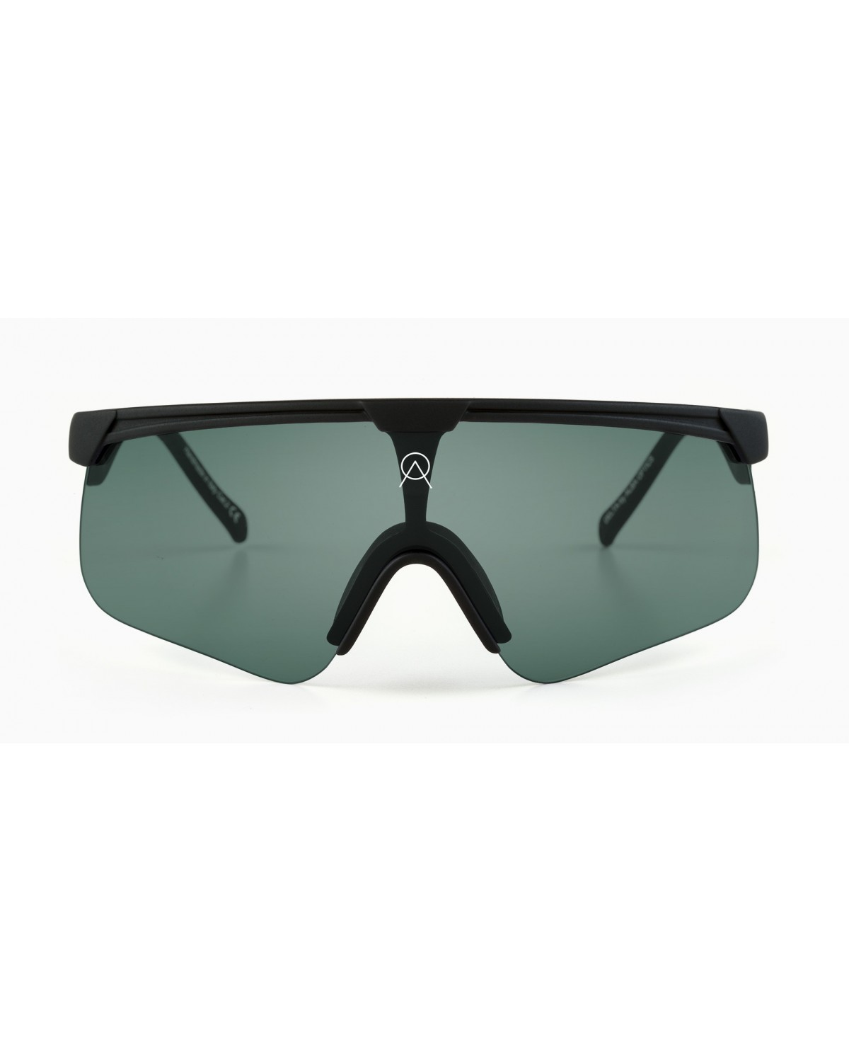 Alba Optics Delta Black Retro Radbrille