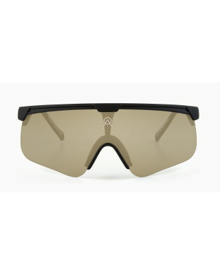 Alba Optics Delta Black / Mirror Gold Sonnenbrille