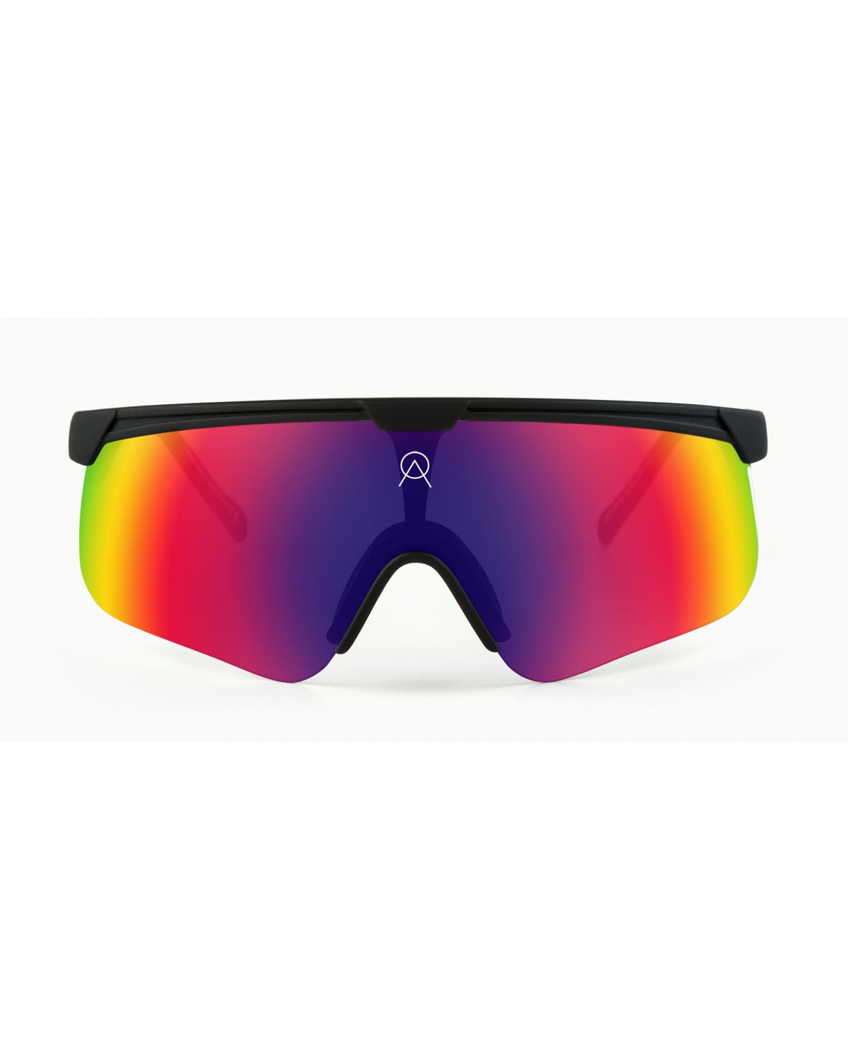 Alba Optics Delta Black Revo Pace Retro Radbrille