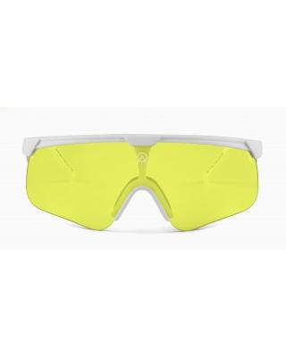 Alba Optics Delta White Banana Sonnenbrille
