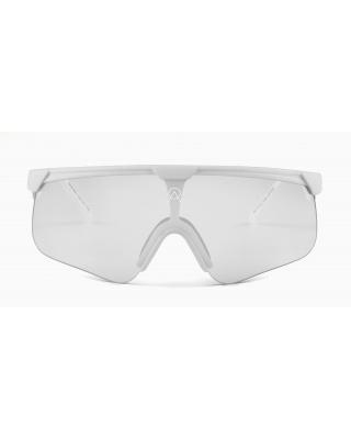 Alba Optics Delta White Mirror Silver Sonnenbrille