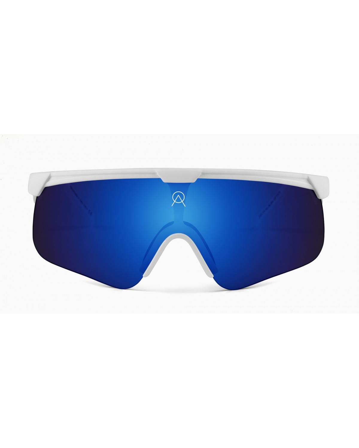 Alba Optics Delta White Revo Sky Retro Radbrille