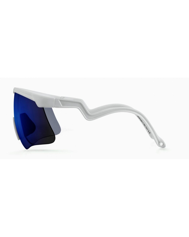 Alba Optics Delta White Revo Sky Retro Radbrille