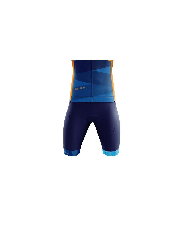 Switchback Cycle Club Highland Trägerhose blau